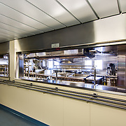 USNS John Glenn - View into galley