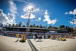 Rivetti Cassio (BRA) - Vivant<br /> Furusiyya FEI Nations Cup Jumping Final <br /> CSIO Barcelona 2013<br /> © Dirk Caremans