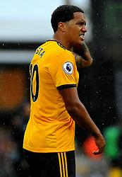 Helder Costa of Wolverhampton Wanderers shows his frustration - Mandatory by-line: Nizaam Jones/JMP - 11/08/2018/ - FOOTBALL -Molineux  - Wolverhampton, England - Wolverhampton Wanderers v Everton - Premier League
