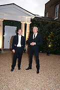 GEORDIE GREIG; ALEXANDER LEBEDEV, Evgeny Lebedev and Graydon Carter hosted the Raisa Gorbachev charity Foundation Gala, Stud House, Hampton Court, London. 22 September 2011. <br /> <br />  , -DO NOT ARCHIVE-© Copyright Photograph by Dafydd Jones. 248 Clapham Rd. London SW9 0PZ. Tel 0207 820 0771. www.dafjones.com.