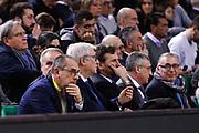 Bianchi Egidio Presidente di Lega Basket , Sidigas Avellino vs Vanoli Cremona, Poste Mobile Final 8 2018 Quarti di Finale, Lega Basket 2017/2018 Firenze 15 febbraio 2018 Nelson Mandela Forum