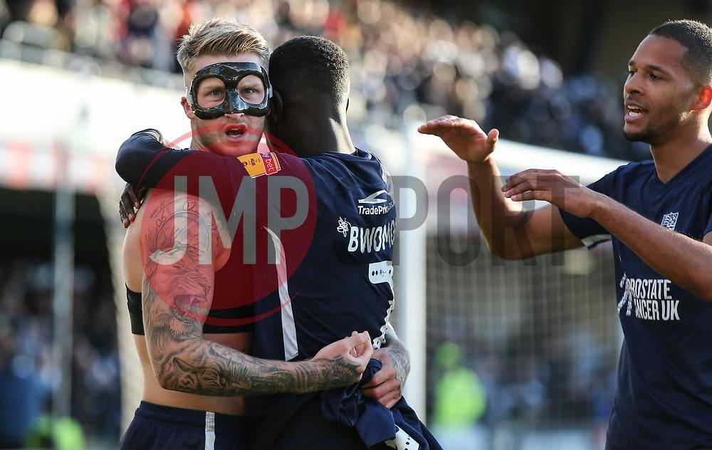 Stephen Humphrys of Southend United celebrates scoring to make it 2-1 - Mandatory by-line: Arron Gent/JMP - 04/05/2019 - FOOTBALL - Roots Hall - Southend-on-Sea, England - Southend United v Sunderland - Sky Bet League One