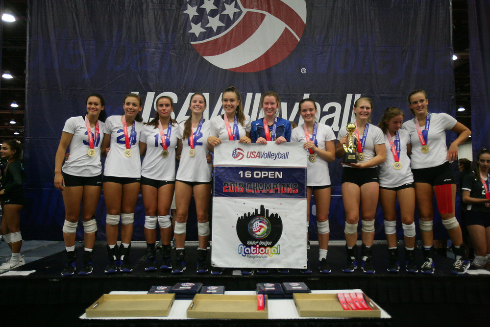 GJNC - July 2018 - Detroit, MI - 16 Open awards - Photo by Wally Nell/Volleyball USA