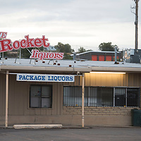 Rocket Liqours on the corner of Second Street and Nizhoni Boulevard is one of several stores in Gallup who sell packaged liquor who will be impacted if the liquor sales are limited to starting at 11 a.m.