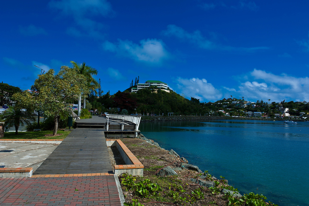 Waterfront of Noumea capital of New Caledonia, Melanesia, South Pacific