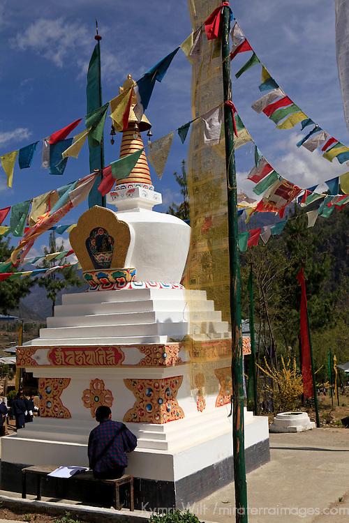 Drukgyel High School Stupa