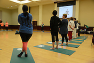 4-H yoga instructors from the University of Arkansas travel to Oklahoma to teach 4-H educators their yoga techniques.<br /> The educators will take the skills that they made back to their local 4-H chapters. <br /> The purpose of this event is to teach youth how to prevent childhood obesity.