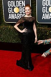 January 6, 2019 - Beverly Hills, Kalifornien, USA - Jessica Chastain bei der Verleihung der 76. Golden Globe Awards im Beverly Hilton Hotel. Beverly Hills, 06.01.2019 (Credit Image: © Future-Image via ZUMA Press)