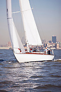 Salty sailing in the New York Classic Week regatta.