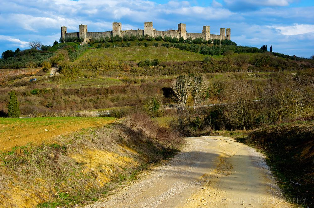 Monteriggioni. Tuscany. Italy