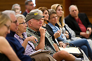 Audience members listen on during the Cap Times 2017 Idea Fest, Sunday, September 17, 2017