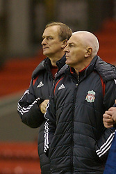 Liverpool, England - Friday, January 26, 2007: Liverpool's Director of Youth Steve Heighway watches his side beat Reading 1-0 during the FA Youth Cup 5th Round match at Anfield. (Pic by David Rawcliffe/Propaganda)