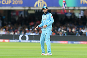 Joe Root of England during the ICC Cricket World Cup 2019 Final match between New Zealand and England at Lord's Cricket Ground, St John's Wood, United Kingdom on 14 July 2019.
