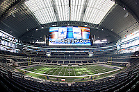 06 November 2011: Interior image of Cowboy Stadium, home to the Dallas Cowboys in Arlington, TX.