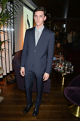 ANDERS HAYWARD at a party hosted by Christian Lacroix partnered with Supa Model Management to celebrate London Men's Collections January 2015, held at the Rumpus Room, the roof top bar at the top of the Mondrian London, 20 Upper Ground, London SE1 on 12th January 2015.