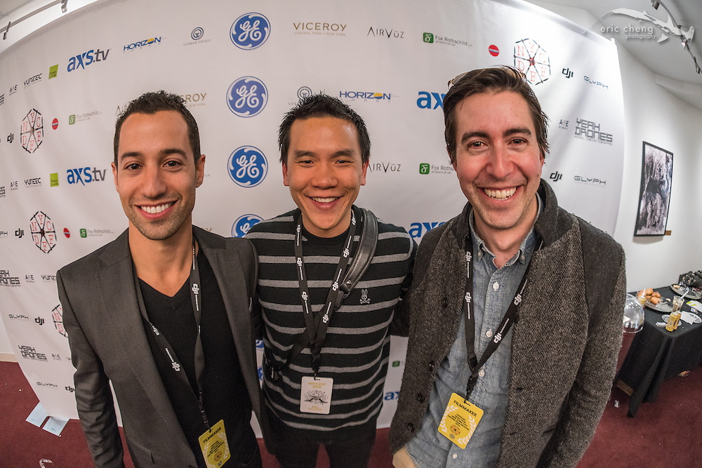 Sam Cossman, Eric Cheng. New York City Drone Film Festival 2016