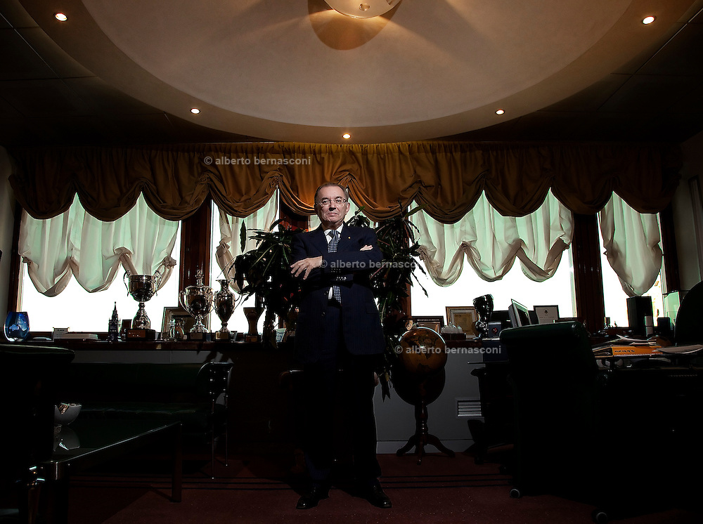Milano, Giorgio Squinzi, presidente di MAPEI