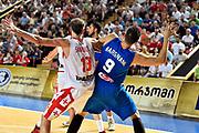 DESCRIZIONE : Tbilisi Nazionale Italia Uomini Tbilisi City Hall Cup Italia Italy Georgia Georgia<br /> GIOCATORE : Andrea Bargnani Viktor Sanikidze<br /> CATEGORIA : tagliafuori difesa<br /> SQUADRA : Italia Italy Georgia Georgia<br /> EVENTO : Tbilisi City Hall Cup<br /> GARA : Italia Italy Georgia Georgia<br /> DATA : 16/08/2015<br /> SPORT : Pallacanestro<br /> AUTORE : Agenzia Ciamillo-Castoria/GiulioCiamillo<br /> Galleria : FIP Nazionali 2015<br /> Fotonotizia : Tbilisi Nazionale Italia Uomini Tbilisi City Hall Cup Italia Italy Georgia Georgia
