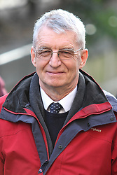 © Licensed to London News Pictures . FILE PHOTO DATED 14 January 2013 . Manchester , UK . MICHAEL BREWER former musical director of Chetham's School , pictured outside Manchester Crown Court as Greater Manchester Police today (11th February) report they are investigating further reports of assaults at the school and urge anyone who wishes to report abuse to come forward . Both Michael and his ex wife Hilary Brewer were convicted of indecent assault on Friday 8th February . Photo credit : Joel Goodman/LNP