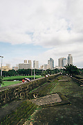 Intramuros; the old walled capital city during the Spanish occupation (1521-1898) Manila