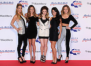 09.DECEMBER.2012. LONDON<br /> <br /> GIRLS ALOUD AT DAY 2 OF CAPITAL FM'S JINGLE BELL BALL AT THE 02 ARENA IN GREENWICH.<br /> <br /> BYLINE: EDBIMAGEARCHIVE.CO.UK<br /> <br /> *THIS IMAGE IS STRICTLY FOR UK NEWSPAPERS AND MAGAZINES ONLY*<br /> *FOR WORLD WIDE SALES AND WEB USE PLEASE CONTACT EDBIMAGEARCHIVE - 0208 954 5968*