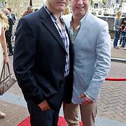 NLD/Amsterdam/20110731 - Premiere circus Hurricane met Hans Klok, Tony Neef en partner Benny
