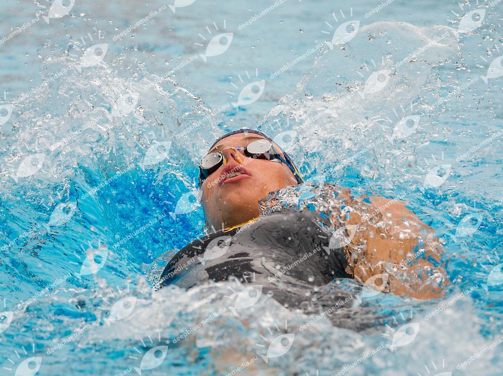 Strickner Teresa<br /> C.C. Aniene<br /> 200 m Backstroke Women<br /> 51 Trofeo Settecolli Clear di nuoto - swimming<br /> Stadio del Nuoto Roma  Italy 13 - 15 June 2014<br /> Day 03 Heats<br /> Photo Pasquale Mesiano/Deepbluemedia/Insidefoto