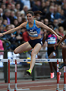 Zuzana Hejnova (CZE) places second in the women's 400m hurdles in 53.93 during the 42nd Memorial Van Damme in an IAAF Diamond League meet at King Baudouin Stadium in Brussels, Belgium on Friday, September 1, 2017. (Jiro Mochizuki/Image of Sport)