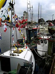 GERMANY SCHLESWIG-HOLSTEIN ECKERNFOERDE 21MAY06 - Fishing boats and yachts in the port of Eckernfoerde.....jre/Photo by Jiri Rezac....© Jiri Rezac 2006
