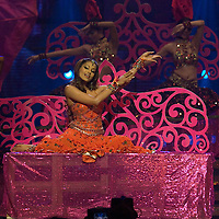SHEFFIELD, UNITED KINGDOM - 9th June 2007: Bollywood actress Bipasha Basu performing at International Indian Film Academy Awards (IIFAs) at the Sheffield Hallam Arena on June 9, 2007 in Sheffield, England..