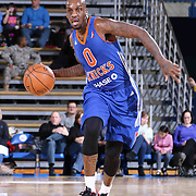 Westchester Knicks Guard Walker Russell (0) attempts to pass the ball in the second half of a NBA D-league regular season basketball game between the Delaware 87ers and the Westchester Knicks (New York Knicks) Wednesday, Feb. 17, 2015 at The Bob Carpenter Sports Convocation Center in Newark, DEL