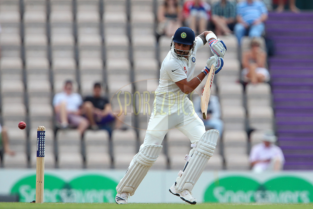 Murali Vijay of India during day three of the third Investec Test Match between England and India held at The Ageas Bowl cricket ground in Southampton, England on the 29th July 2014<br /> <br /> Photo by Ron Gaunt / SPORTZPICS/ BCCI