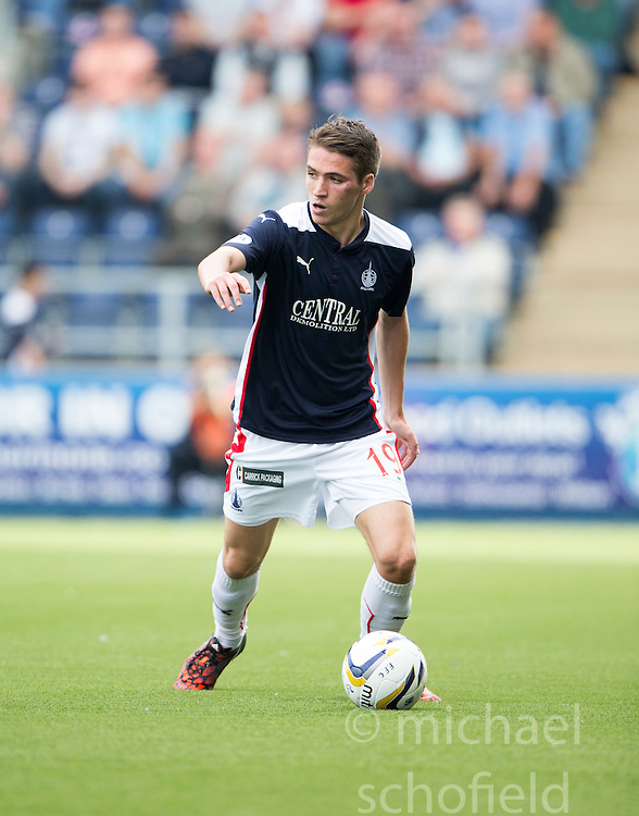 Falkirk's Luke Leahy.<br /> Falkirk 1 v 1 Queen of the South, Scottish Championship game played today at The Falkirk Stadium.