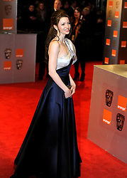 ©London News Pictures. 13/02/2011. Talulah Riley Arriving at BAFTA Awards Ceremony Royal Opera House Covent Garden London on 13/02/2011. Photo credit should read: Peter Webb/London News Pictures