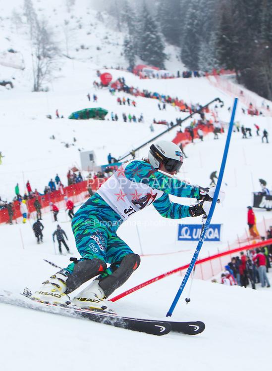 22.01.2012, Ganslernhang, Kitzbuehel, AUT, FIS Weltcup Ski Alpin, 72. Hahnenkammrennen, Herren, Slalom 1. Durchgang, im Bild Kjetil Jansrud (NOR) // Kjetil Jansrud of Norway during Slalom race 1st run of 72th Hahnenkammrace of FIS Ski Alpine World Cup at 'Ganslernhang' course in Kitzbuhel, Austria on 2012/01/22. EXPA Pictures © 2012, PhotoCredit: EXPA/ Johann Groder
