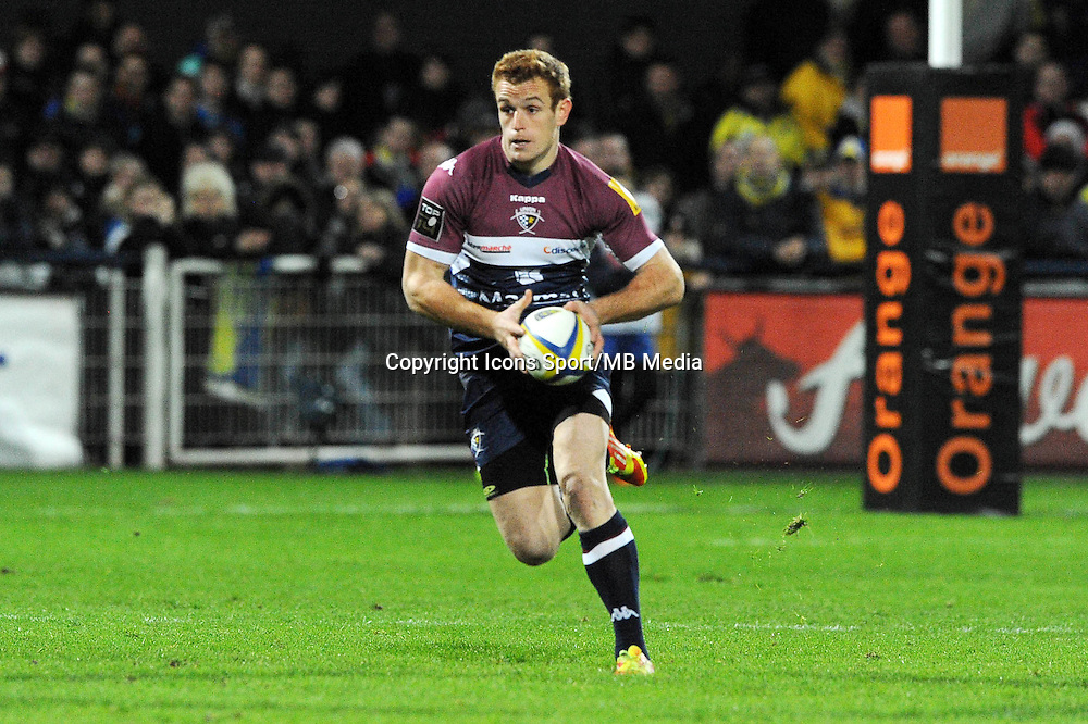 Charles Brousse  - 13.03.2015 - Clermont / Begles Bordeaux  -  20eme journee de Top 14<br /> Photo : Jean Paul Thomas  / Icon Sport<br /> <br />   *** Local Caption ***