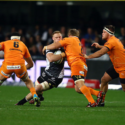 DURBAN, SOUTH AFRICA, 9,JULY, 2016 Jean-Luc du Preez of the Cell C Sharks during The Cell C Sharks vs Toyota Cheetahs  Super Rugby Match at Growthpoint Kings Park in Durban, South Africa. (Photo by Steve Haag)<br /> <br /> images for social media must have consent from Steve Haag