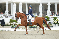 jBiggs Hannah, (GBR), Weltzin <br /> Grand Prix<br /> CDIO Hagen 2015<br /> © Hippo Foto - Stefan Lafrentz<br /> 09/07/15