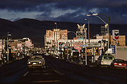7th Avenue Sunset, Yakima, Washington, USA, May 1991