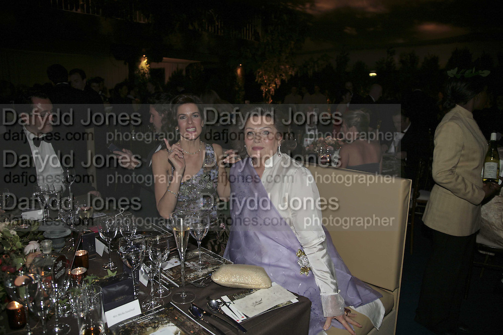 Christina Estrada/ Christina Juffali and her mother Chantal Lee, British Red Cross Ball, Waterloo. London. 16 November 2006.  TIME USE ONLY - DO NOT ARCHIVE  © Copyright Photograph by Dafydd Jones 66 Stockwell Park Rd. London SW9 0DA Tel 020 7733 0108 www.dafjones.com