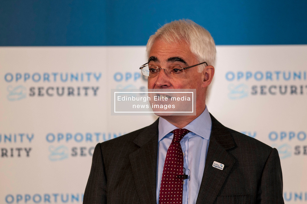Alistair Darling delivered an independence debate speech when he addressed a number of younger voters in Edinburgh today. He argued that more opportunities exist for young people with Scotland as part of the UK 16 January 2014 (c) GER HARLEY   StockPix.eu