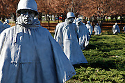 Korea War Memorial, Washington DC USA.