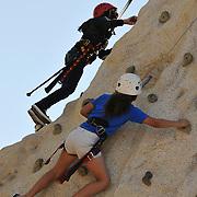 Kids' climbing wall at Cyclovia Tucson 2011. Event photography by Martha Retallick.