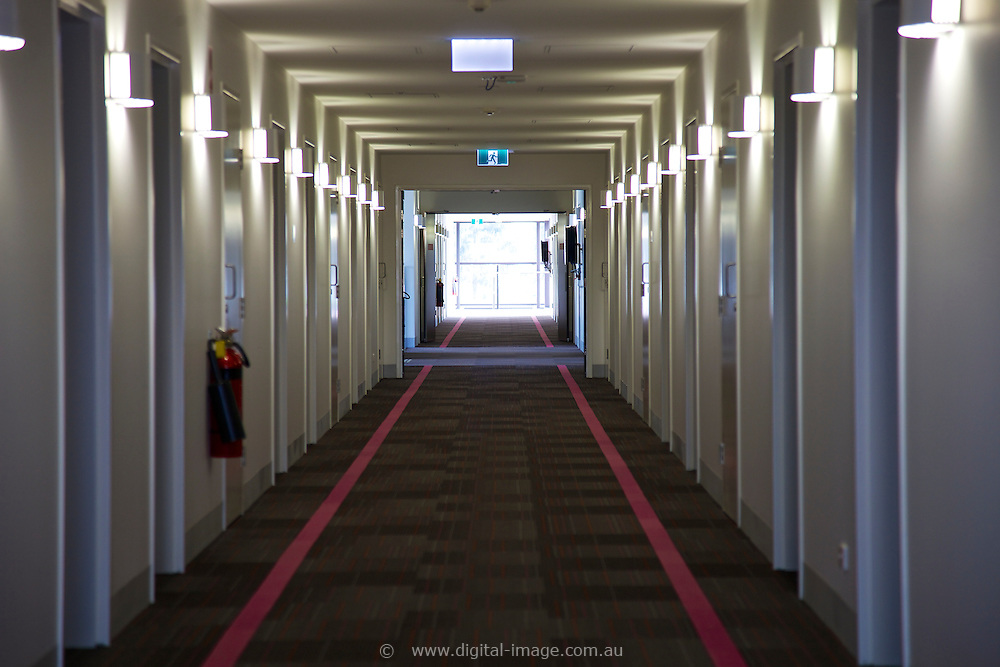User Accomodation facility at the Australian Synchrotron,  hallway