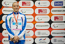 MORLACCHI Federico ITA at 2015 IPC Swimming World Championships -  men's 400m Freestyle S9