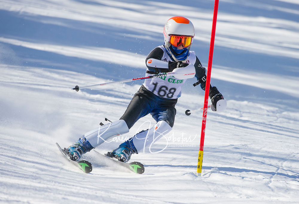 Paul Ladouceur Slalom men U12 first run.  ©2018 Karen Bobotas Photographer