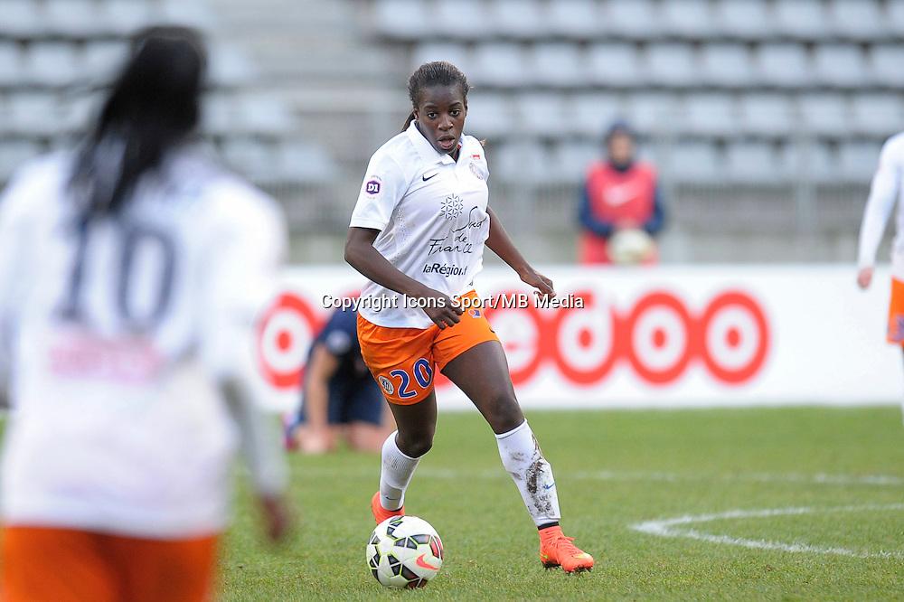 Viviane Asseyi  - 20.12.2014 - PSG / Montpellier - 14eme journee de D1<br /> Photo : Andre Ferreira / Icon Sport