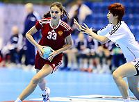 Håndball , 29. november 2013 , Møbelringen Cup kvinner<br /> Russland - Sør-Korea<br /> Ekaterina Sukhanova , Russland<br /> Handball , Women<br /> Russi - Korea