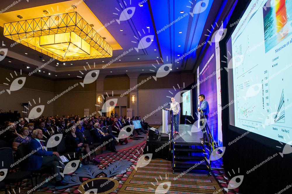 Carl Bradford<br /> FINA 4th World Aquatics Convention<br /> Medical Congress Windsor  Dec. 3rd, 2016<br /> Caesar's Casino - Windsor Ontario Canada CAN <br /> 20161203 Caesar's Casino - Windsor Ontario Canada CAN <br /> Photo &copy; Giorgio Scala/Deepbluemedia/Insidefoto