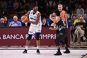 Donta Smith<br /> Dolomiti Energia Aquila Basket Trento - Happy Casa New Basket Brindisi<br /> LegaBasket Serie A 2017/2018<br /> Trento, 08/04/2018<br /> Foto M.Ceretti / Ciamillo - Castoria
